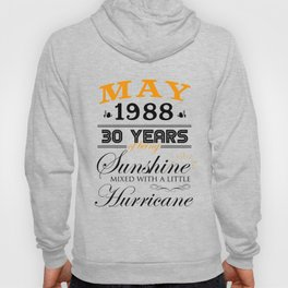 May 1988 Gifts 30 Years Anniversary Celebration Hoody