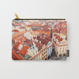 Red Roof Prague Carry-All Pouch