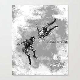YC Falling Canvas Print