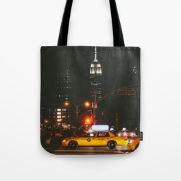 New York at Night Tote Bag