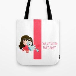 Cat lover Tote Bag