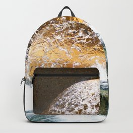 Colorful Water Drain Backpack