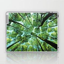 Looking up in Woods Laptop & iPad Skin