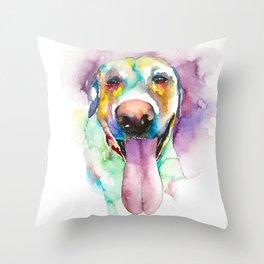 dog#24 Throw Pillow