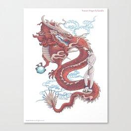 Treasure Dragon Canvas Print