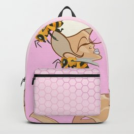 Blonde Buzzed Backpack