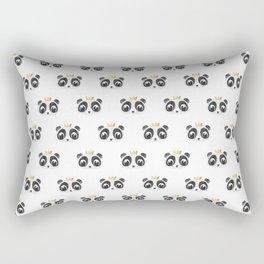 Panda King [Pattern] Rectangular Pillow