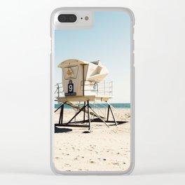 Huntington Beach Clear iPhone Case
