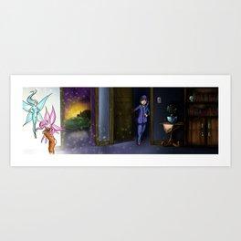 Dreams2-2 Art Print