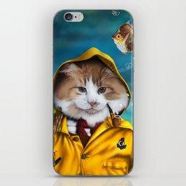 Le pêcheur/The fisherman iPhone Skin