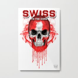 To The Core Collection: Switzerland Metal Print