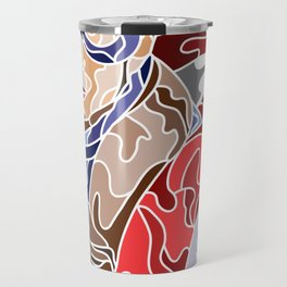 Abstract Captain Travel Mug