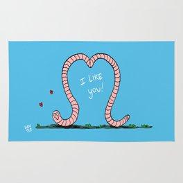 Worm-love! Rug