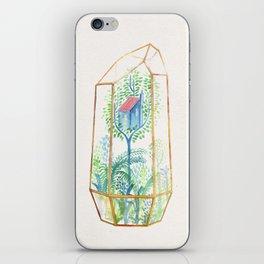 Terrarium Garden III iPhone Skin