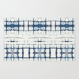 Faded Japanese Shibori Rug