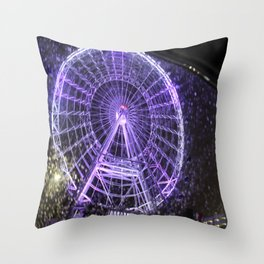 Colorful Eye Throw Pillow