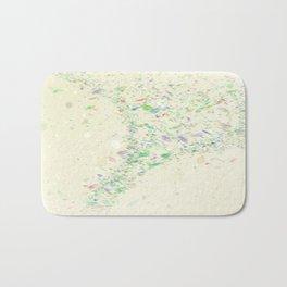 Confetti in the wind Bath Mat