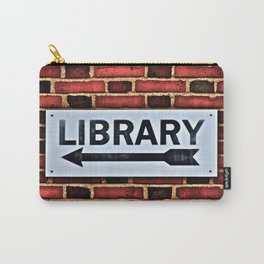 Library Carry-All Pouch