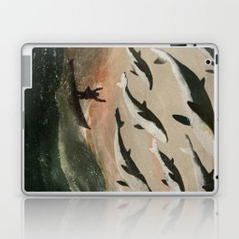 Minke Whale Migration Laptop & iPad Skin