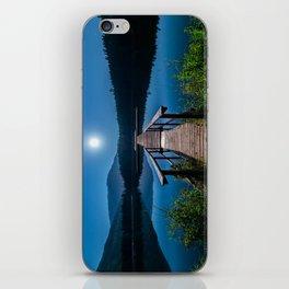 Bright Night Sky at British Columbia iPhone Skin