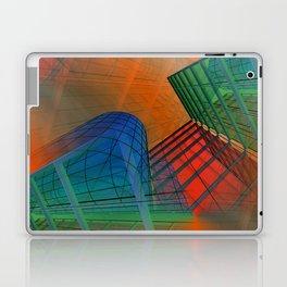 city pattern -3- Laptop & iPad Skin