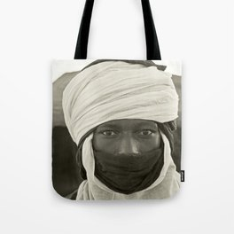 'African pride' - Mohamed from Timbuktu Tote Bag