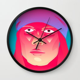 Neon Indian Wall Clock
