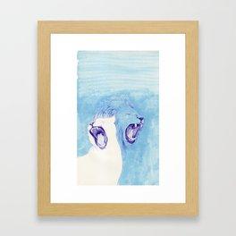 Two Lions Framed Art Print