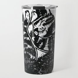 Sleeping Cat - Lino Travel Mug