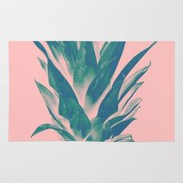 Blush Pineapple Dream #3 #tropical #fruit #decor #art #society6 Rug