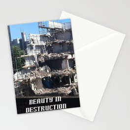 Beauty in Destruction Stationery Cards