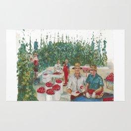 Tomato Growers,Australia             by Kay Lipton Rug