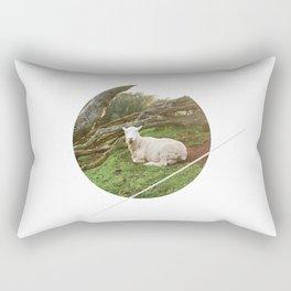 Lamb in the Grass  Rectangular Pillow