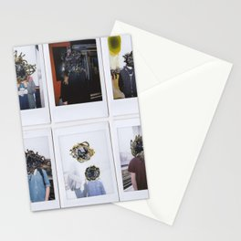 People Watching Stationery Cards