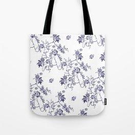 Penis Pattern Tote Bag