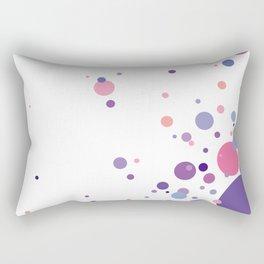 Blowing Bubbles Rectangular Pillow