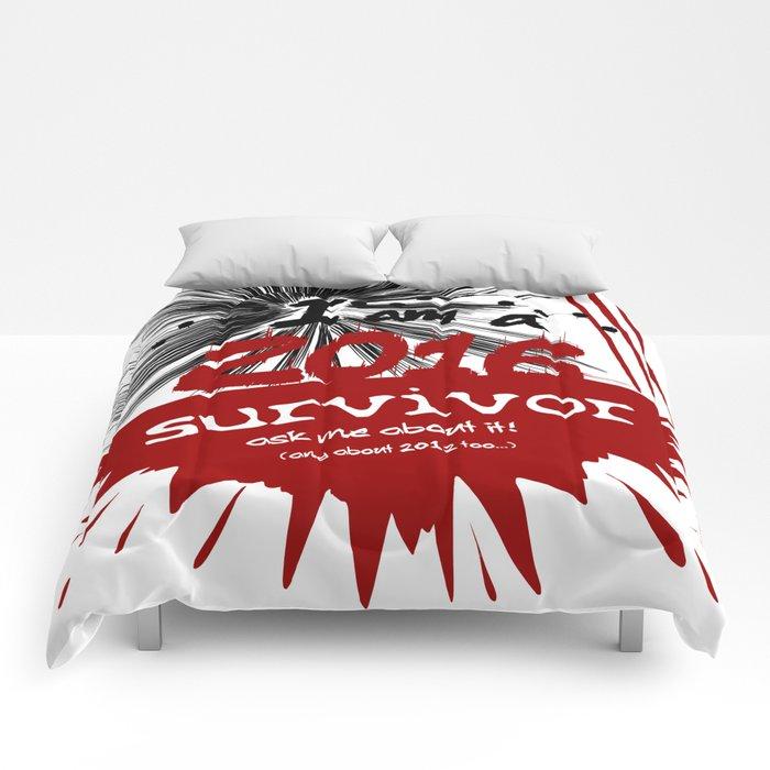 2016 survivor Comforters