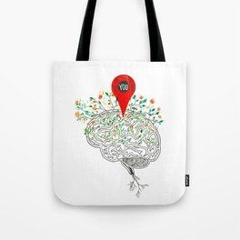 you are all over my Mind Tote Bag