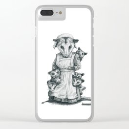 Now, Children Clear iPhone Case