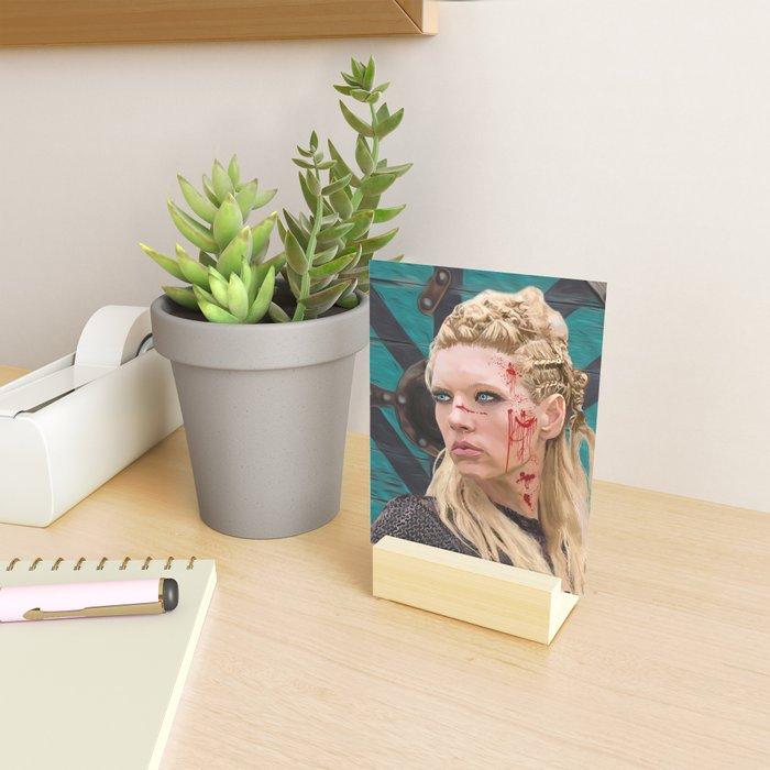 Lagatha Shield Maiden Painting Mini Art Print