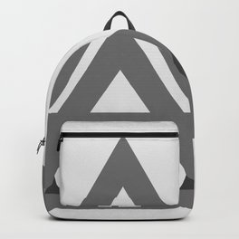 Abstract geometric line design Backpack
