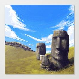 Rapanui Canvas Print