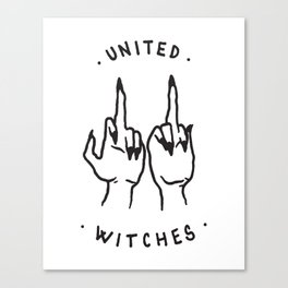 United Witches Canvas Print