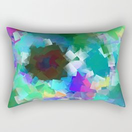Light and dark hours Rectangular Pillow