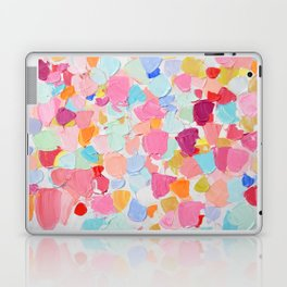 Amoebic Confetti Laptop & iPad Skin