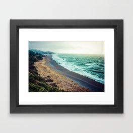 Good Morning Beach Framed Art Print