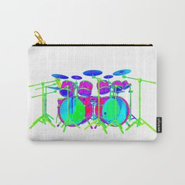 Colorful Drum Kit Carry-All Pouch