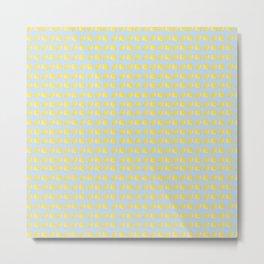 Catch the Half Lemon (Pattern Version) Metal Print