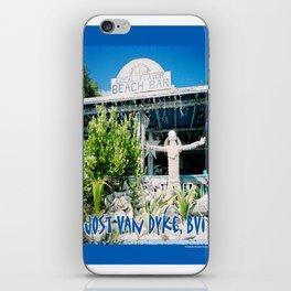 Ivan's on Jost Van Dyke, BVI- World's best honor bar! iPhone Skin