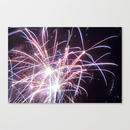 MV Fireworks: Scatterbrain Canvas Print